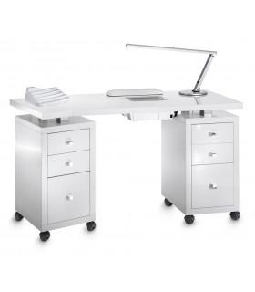 Tables et mobilier manucure artecno et beauty tech - Table manucure pliante avec aspirateur ...