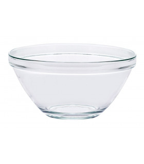 Bol en verre multi-usages