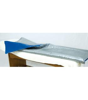 Cover Slim 3 zones à infrarouges longs Argent/Bleu
