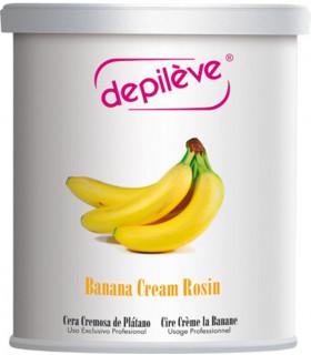Cire à épiler crème de banane - Pot 800g - Depilève