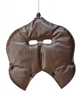 Masque chauffant Chocolat/Beige