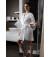 Kimono jetable blanc