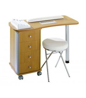 Table manucure simple Luxe avec aspiration
