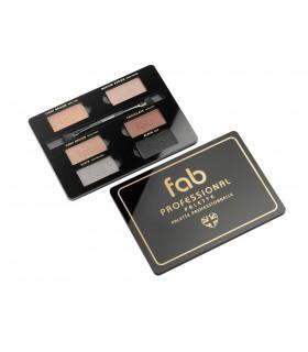 Palette sourcils professionnelle - Fab brows