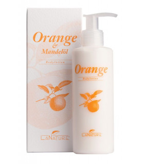 Lait corps Orange & Huile d'Amande 200ml - La Nature