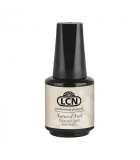 Ongles sollicités & cassants 10 ml - Natural Nail Boost Gel «keratin» - LCN
