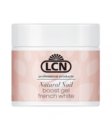 French Look 10 ml - Natural Nail Boost Gel «french white» - LCN