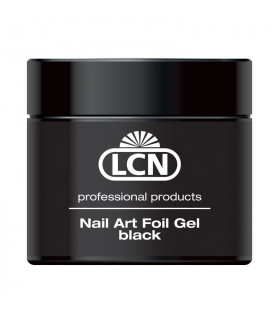 Nail Art Foil Gel Black 5 ml - LCN