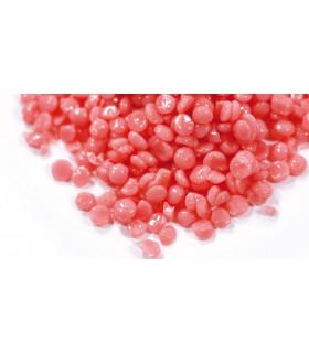 Cire traditionnelle  pastilles rose éco - Sachet de  1 kg - Depilève