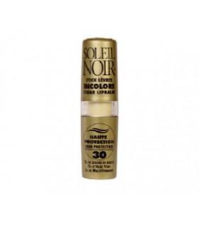 Stick à lèvres incolore IP 30 haute protection - SOLEIL NOIR