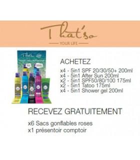PACK All-in-one x16 + 6 Sacs + 1 Présentoir - That's so