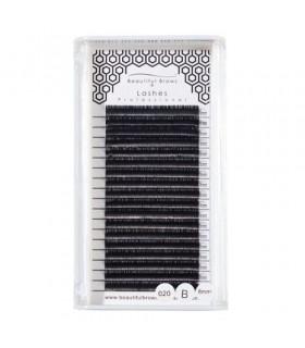 Cils Soie Courbe B - Epaisseur 0.5mm - Beautiful Brows & Lashes