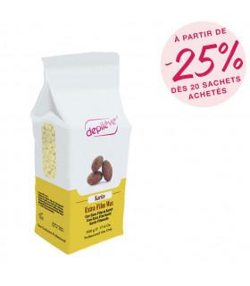 Perles extra film au  beurre de karité - Sachet de 500g - Depilève