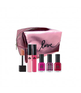 SET DE MAQUILLAGE « WHAT DO YOU PINK? » - LCN