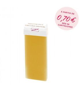 Cire à épiler naturelle au miel - Cartouche 100g avec bandes - Depilève