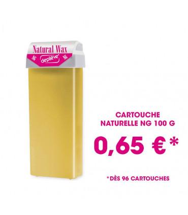 Cire à épiler naturelle NG - Cartouche 100g avec bandes - Depilève