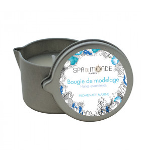 Bougies de modelage Huiles essentielles - Promenade Marine 35g - Spa Du Monde