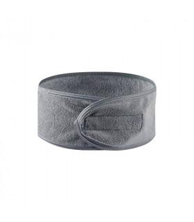 Bandeau microfibre gris