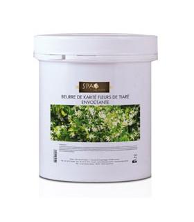 Beurre de karité fleur de tiaré envoûtante Spa du monde 1L