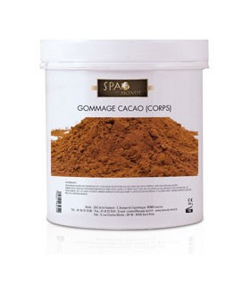 Gommage cacao corps Spa du monde