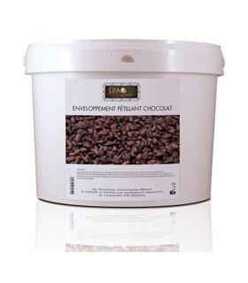Enveloppement pétillant au cacao Spa du monde