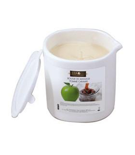 Bougie de massage pomme caramel Spa du monde